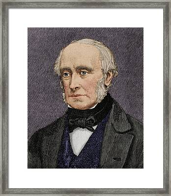 Lord William Armstrong Framed Print by Maria Platt-evans
