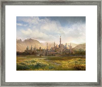Lordaeron Framed Print by Philip Straub