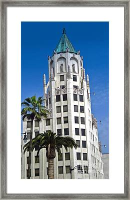 Los Angeles - Hollywood And Highland Framed Print by Gregory Dyer