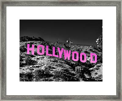 Los Angeles 016 C Framed Print by Lance Vaughn