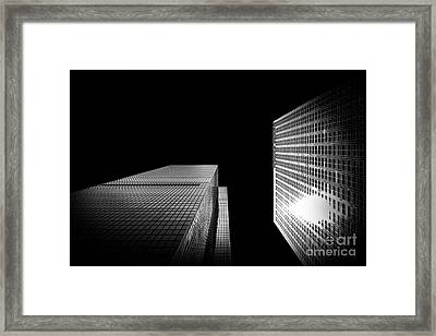 2 Towers Framed Print by Az Jackson