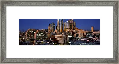 Los Angeles Ca Usa Framed Print by Panoramic Images