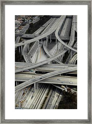 Los Angeles, Judge Harry Pregerson Framed Print by David Wall