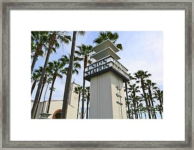 Los Angeles Union Station. Framed Print by Jamie Pham