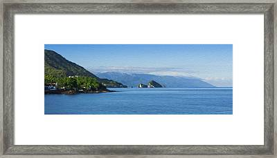 Los Arcos Framed Print by Aged Pixel