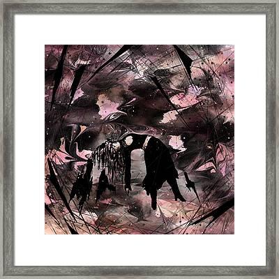 Lose My Life Framed Print by Rachel Christine Nowicki