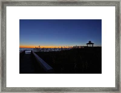 Losing It Framed Print by Jimmy Taaffe