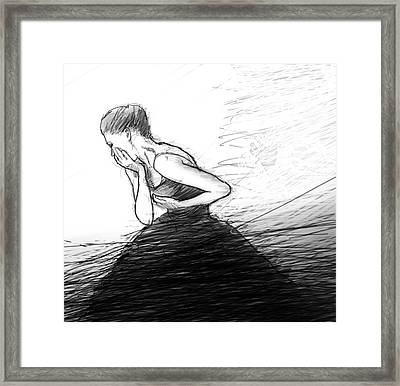 Loss Framed Print by H James Hoff