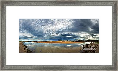 Lossiemouth Pano Framed Print by Jane Rix