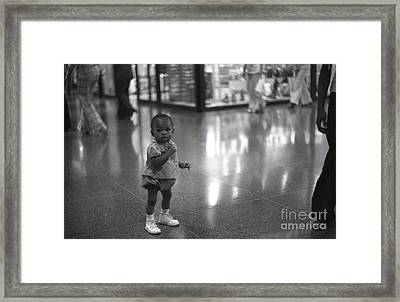 Lost Framed Print by Andre Paquin
