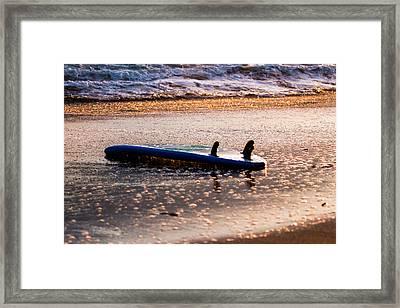 Lost Board Framed Print by David Alexander