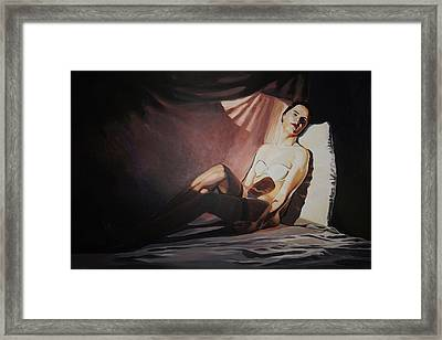 Lost In My Thoughts Framed Print by Robert Keseru