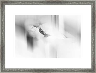 Lost In The Dreams. Boudoir Photography 7. Impressionism. Exclusively For Faa Framed Print by Jenny Rainbow