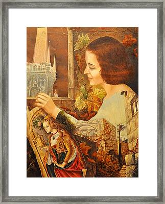 lost in Time GD Framed Print by Nekoda  Singer