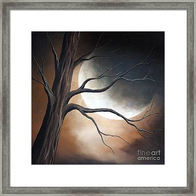 Lost In Your Beauty By Shawna Erback Framed Print by Shawna Erback