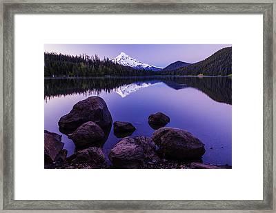 Lost Lake Serenity Framed Print by Vishwanath Bhat