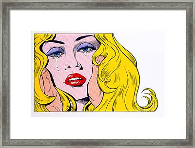 Lost Love Framed Print by MGL Studio