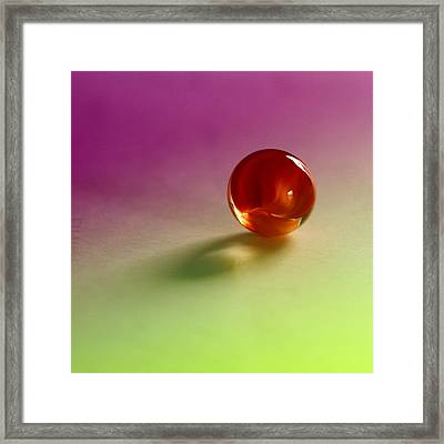 Lost Marbles  Framed Print by Tom Druin