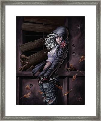 Lost Princess Framed Print by Bryan Syme