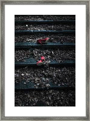 Lost Shoes Framed Print by Joana Kruse