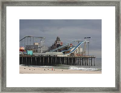 Lost To Sandy Framed Print by Laura Wroblewski