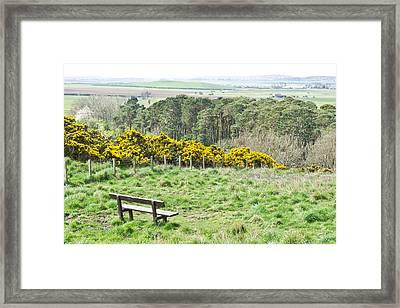 Lothian Landscape Framed Print by Tom Gowanlock