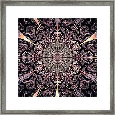 Lotus Gates Framed Print by Anastasiya Malakhova