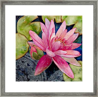 Lotus Love Framed Print by Susy Soulies