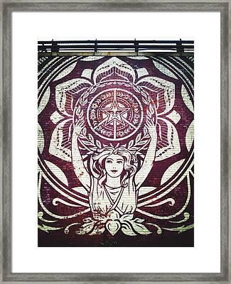Lotus Woman Of Brooklyn Framed Print by Natasha Marco