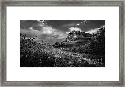 Loudoun Hill Framed Print by John Farnan