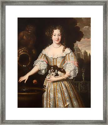 Louis De Keroulle - Duchess Of Portsmouth Framed Print by Mountain Dreams