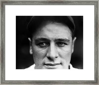 Louis H. Lou Gehrig Framed Print by Retro Images Archive