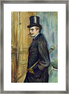 Louis Pascal Framed Print by Henri de Toulouse-Lautrec