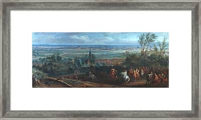 Louis Xiv Lille, 1667 Framed Print by Granger