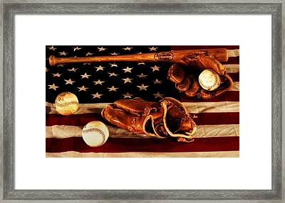 Louisville Slugger Framed Print by Dan Sproul