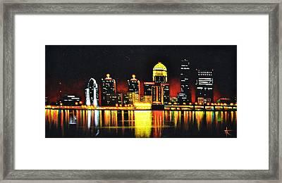 Louisville Framed Print by Thomas Kolendra