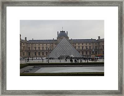 Louvre - Paris France - 011310 Framed Print by DC Photographer