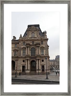 Louvre - Paris France - 011327 Framed Print by DC Photographer
