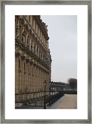 Louvre - Paris France - 011330 Framed Print by DC Photographer