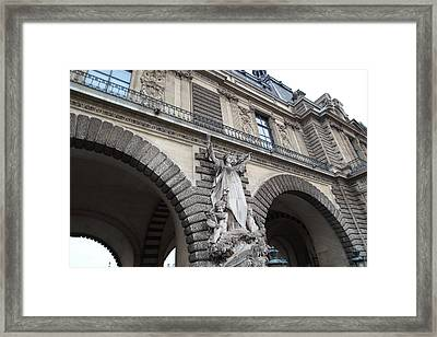 Louvre - Paris France - 011331 Framed Print by DC Photographer