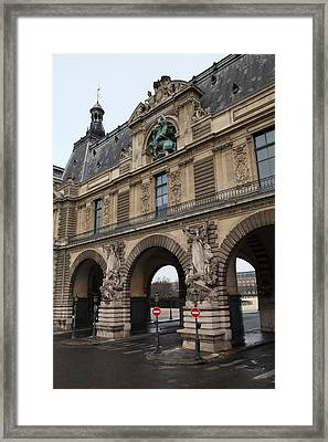 Louvre - Paris France - 011334 Framed Print by DC Photographer