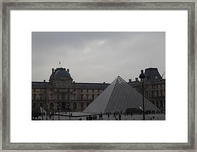 Louvre - Paris France - 01135 Framed Print by DC Photographer