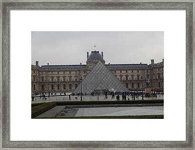 Louvre - Paris France - 01139 Framed Print by DC Photographer