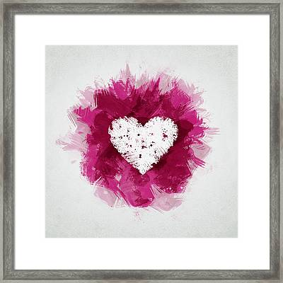 Love Framed Print by Aged Pixel