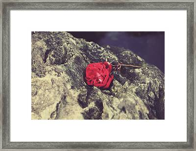 Love And Hard Times Framed Print by Laurie Search