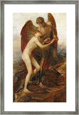 Love And Life Framed Print by George Frederick Watts