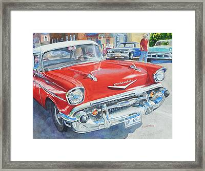 Love At First Sight Framed Print by Joan Senkowicz