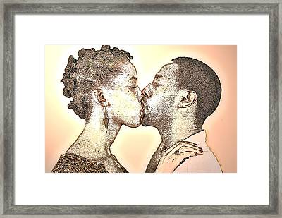 Love At First Sight Framed Print by Tony Ashley