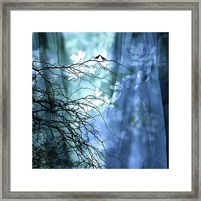 Love Bird's Garden Framed Print by Kume Bryant