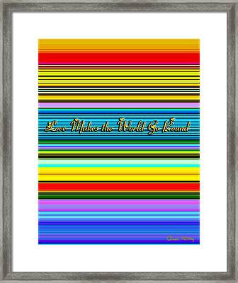 Love Framed Print by Chuck Staley
